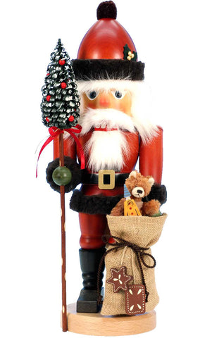 Nutcracker - Santa with Teddy