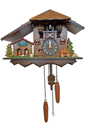 Cuckoo Clock with Weather House| MyDirndl.Com™