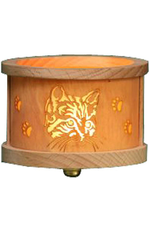 Tea light Luminary - Cats