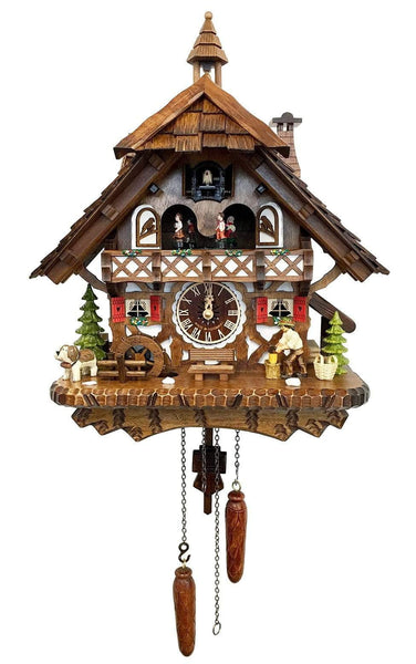 Black Forest  with Woodchopper and Waterwheel