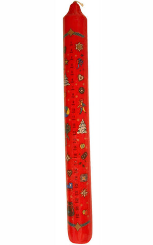 German Advent Candle  Red #5034R