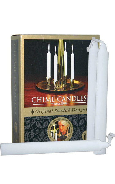 Swedish Design White Candle for Angel Chimes#9071