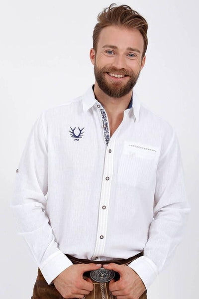 Jannis White Men's Shirt