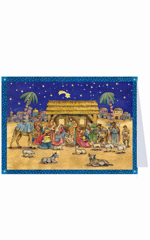 Advent Postcard - Nativity
