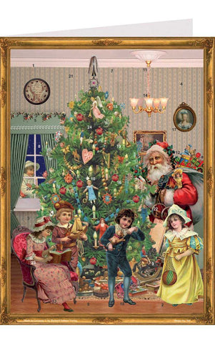 Advent Card - Victorian Christmas Advent Calendar
