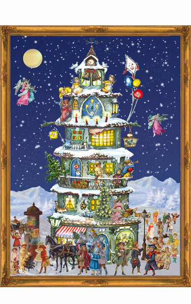 Advent Calendar Victorian Tower