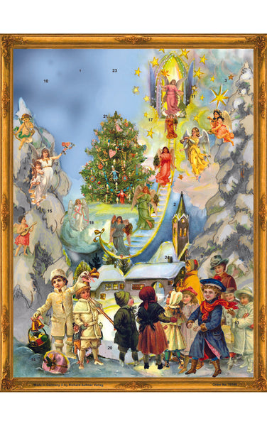 Advent Calendar Victorian Style Stairway to Heaven