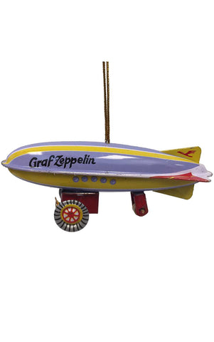 Collectible Tin Ornament - Zeppelin