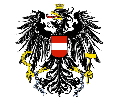 mouse pad Austrian Eagle