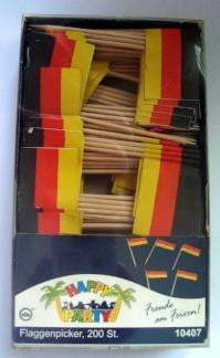 Flag Picks German  200 pieces