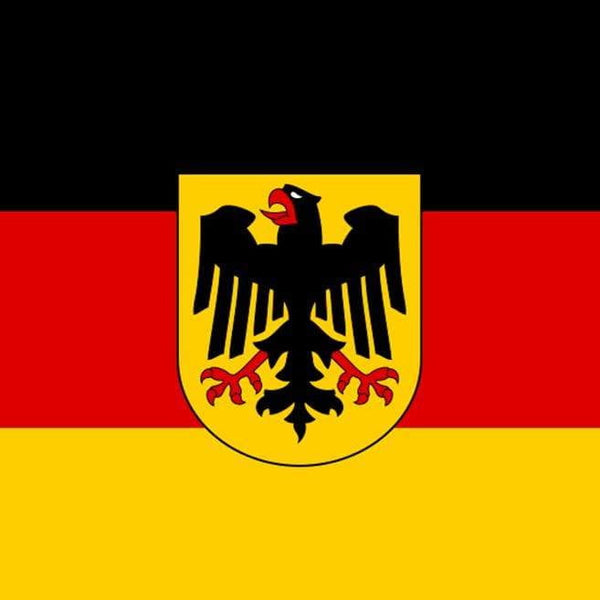 magnet metal German Flag/Crest| MyDirndl.Com™