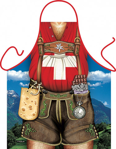 German Oktoberfest Apron - Swiss Special Edition