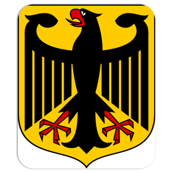 mouse pad German Crest