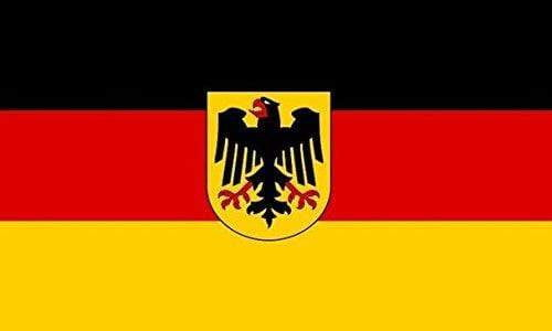 flag German with Crest