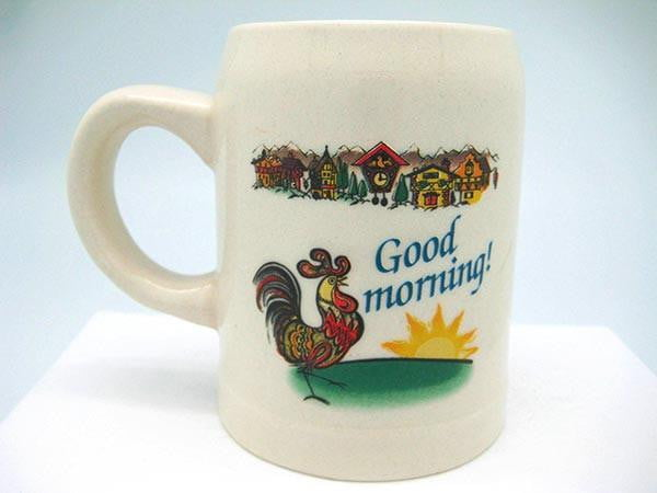 Guten Morgen Short Bier or Coffee Mug