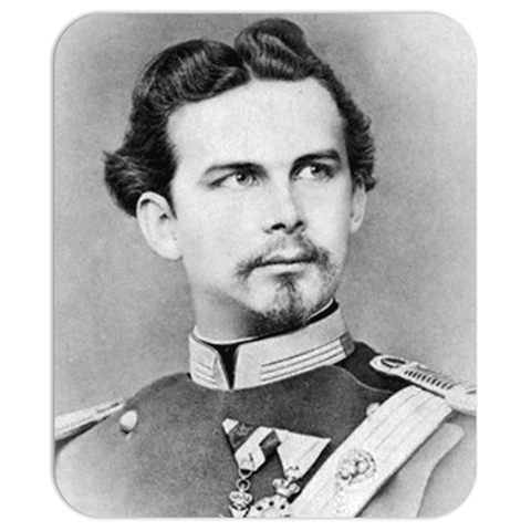 mouse pad King Ludwig II of Bavaria