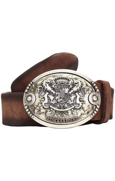 Men's Belt  mocca| MyDirndl.Com™