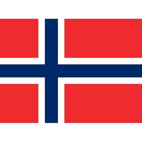 magnet metal Flag of Norway
