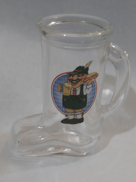 shot glass Beer Boot Oktoberfest Man