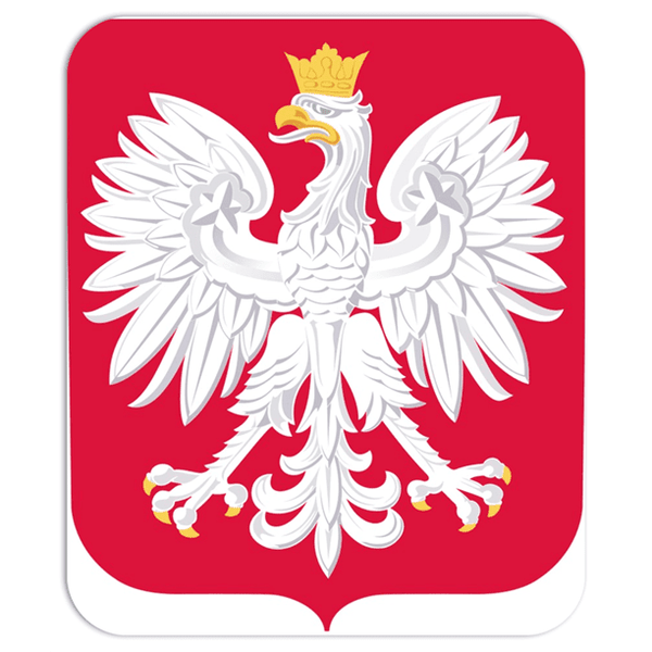 mousepad Polish Crest