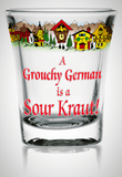 shot glass - Sour Kraut