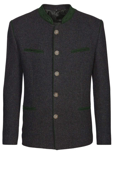 Stachus Anthrazit Men's Trachten Loden  Jacket
