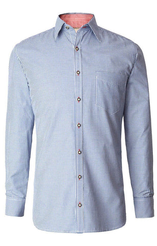 Dave4 Azur men's shirt