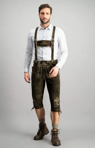 Faid Men's Bavarian Bundhosen
