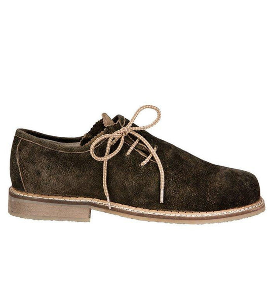 Bison Haferlschuh Dark Brown Men's Shoes | MyDirndl.Com™