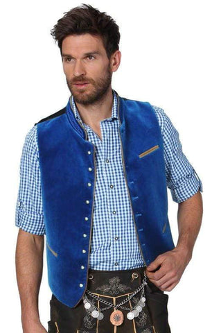 Ricardo Royale Blue men's vest