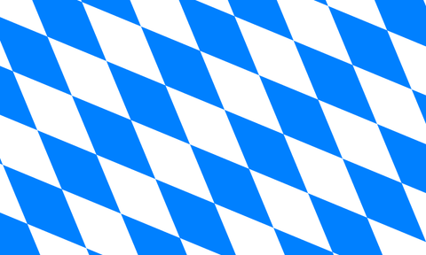 Bavarian Flag without Crest