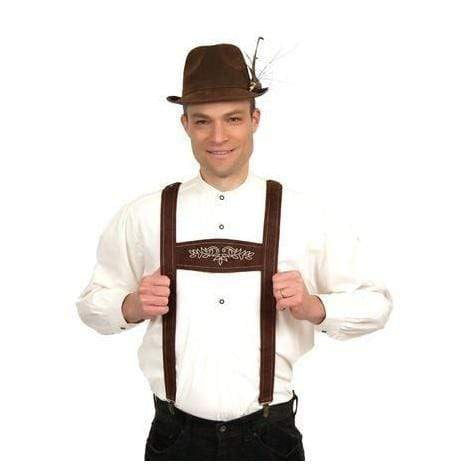 Suspenders Faux Leather | MyDirndl.Com™