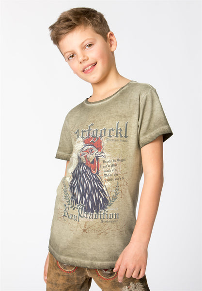 Dorfgockel jr Trachten T-Shirt