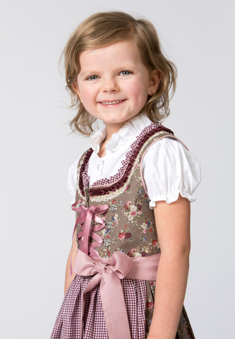 Emma Nuss Bordeaux Child Dirndl