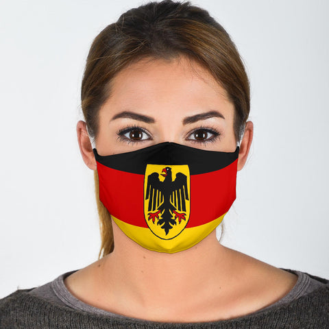 German Flag Face Mask
