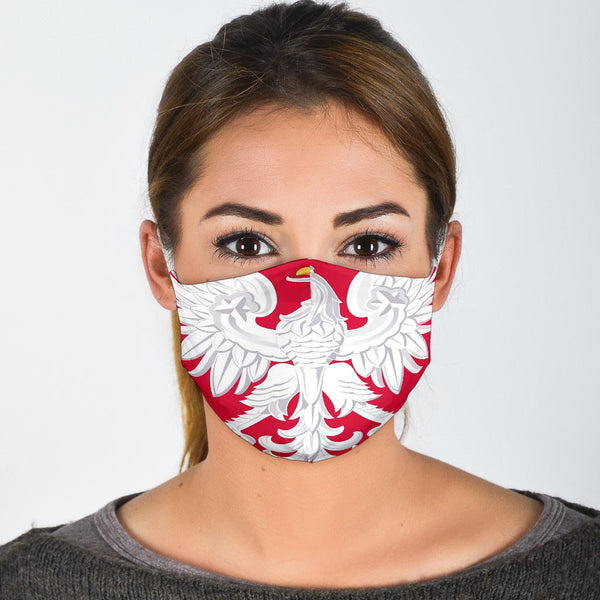 Polish Coat of Arms Facemask