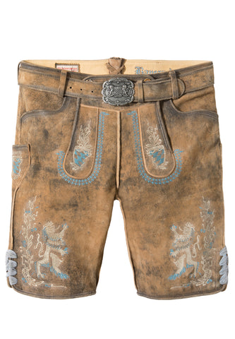 Bayern Lion Men's Bavarian Lederhosen