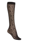 Fishnet Stockings Knee Highs with Jumping Deer*