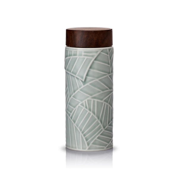 Jade Leaves Tea Tumbler ( Pre-order for 20% Off)