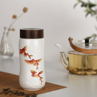 The Joy of Fishes Travel Mug ( Double Wall )