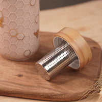 Bamboo Tea Infuser Lid (New)