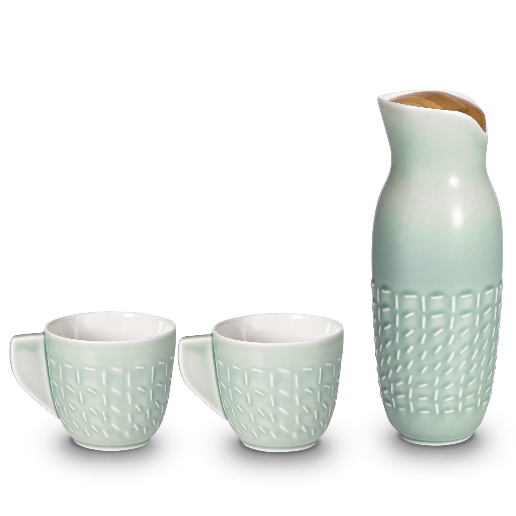 Footprint Carafe Set ( Cup with Handles)