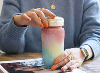 Rainbow with Swarovski element Tumbler ( New Arrival ! )