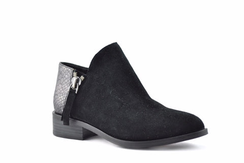 Volatile Greyson Black Snake Embossed Boot @ North72 Boutique