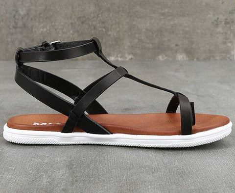 MIA Eryn Black Sandal @ North72 Boutique
