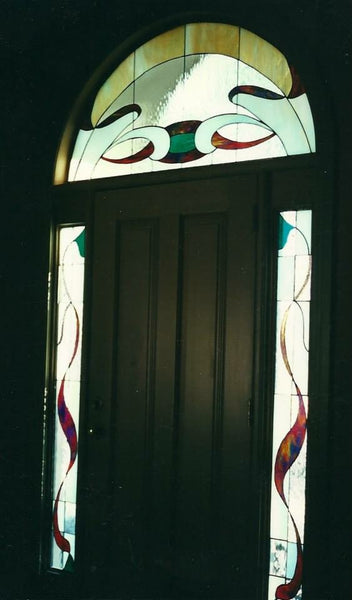 Transom and Sidelights, custom work