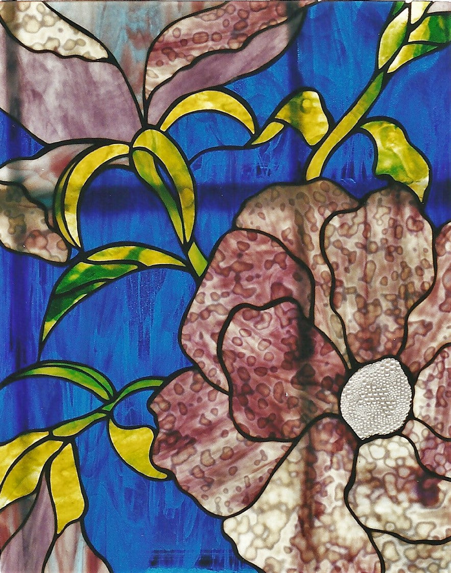 Sold, Peonies Hanging Panel