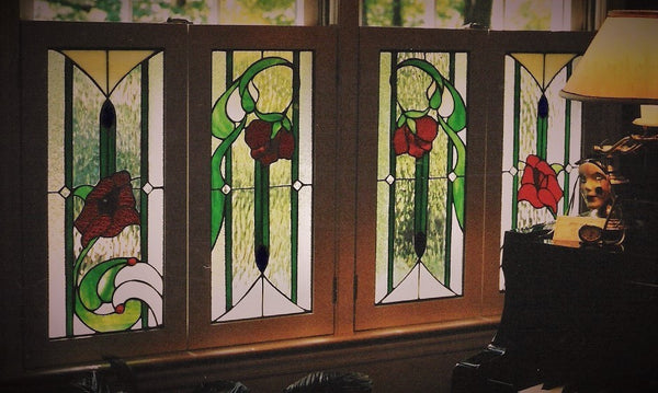 Music room shutters, custom work