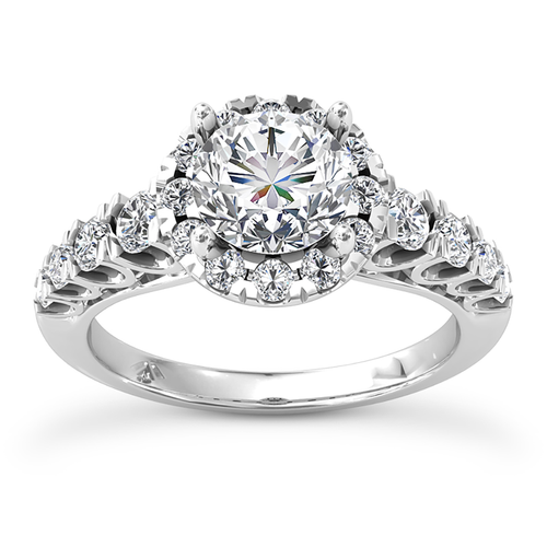 Diamond Engagement Ring 3108 Front View