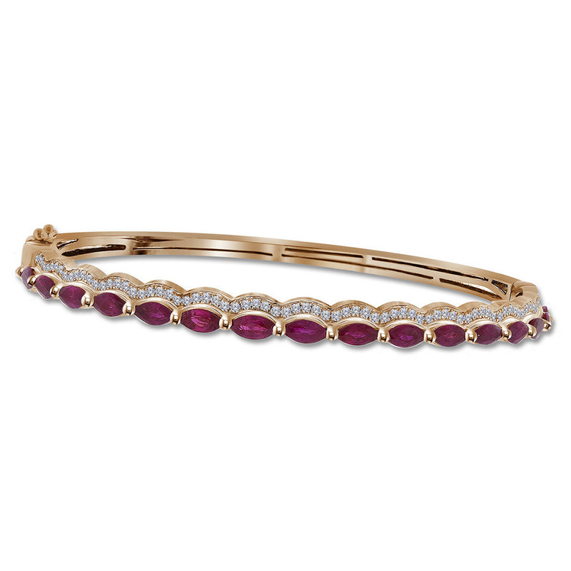 bangle diamond precious ab bangles ruby bracelet gemstone cuff producttype pave